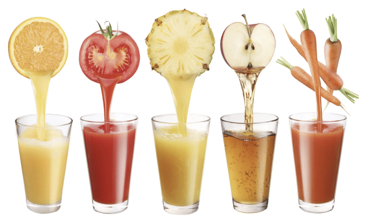 Average Juice Yields for Fruits & Vegetables